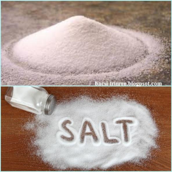 Phương pháp trị mụn nam giới bằng muối
