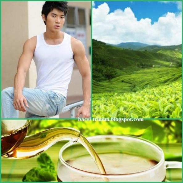 Trị mụn đầu đen cho nam giới hiệu quả bằng trà xanh